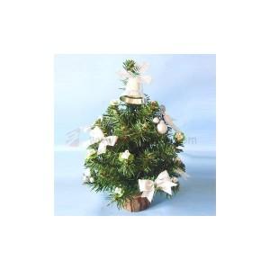 umělé vánoční stromečky na stůl
