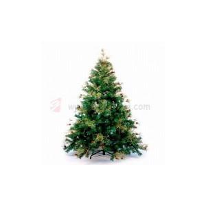 umělé vánoční stromečky s ozdobami od výrobce