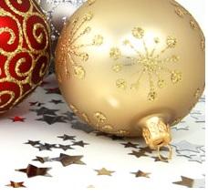 vánoční dekorace od výrobce - ozdoby