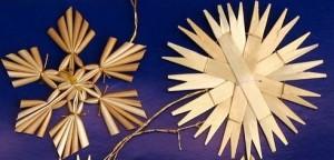 vánoční ozdoby z přírodních materiálů zakázková výroba