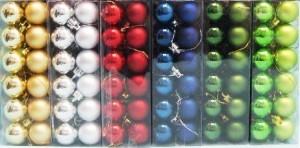 vánoční ozdoby zakázková výroba balení