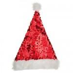 vánoční reklama - vánoční čepice na zakázku s flitry