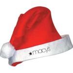 vánoční reklama - vánoční čepice s logem na zakázku