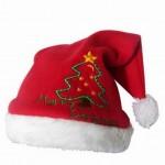 vánoční reklama - vánoční čepice s potiskem na zakázku