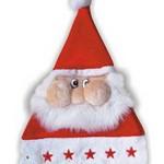 vánoční reklama - vánoční čepice se santou na zakázku