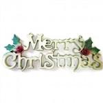 vánoční reklama - vánoční dekorační nápisy