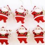 vánoční reklama - vánoční figurky santa na zakázku