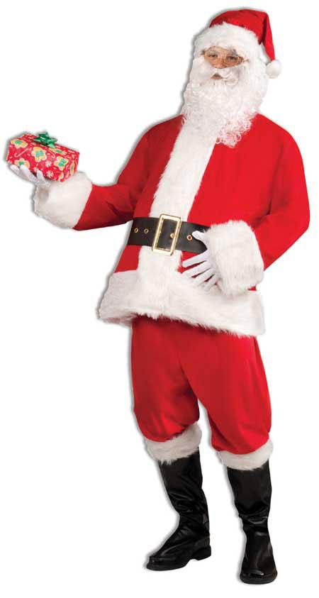 vánoční reklama - vánoční kostým santa na zakázku