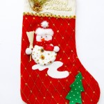 vánoční reklama - vánoční punčochy na zakázku s potiskem
