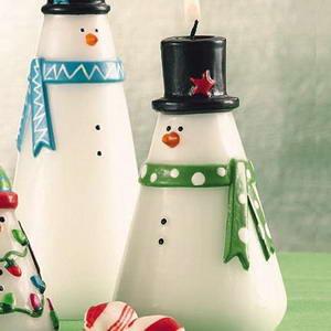 vánoční svíčky na zakázku